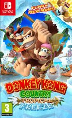 Гра (Switch) Donkey Kong Country Tropical Freeze