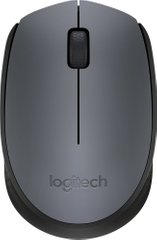 Миша Logitech Wireless Mouse M171 Gray-Black (910-004424)