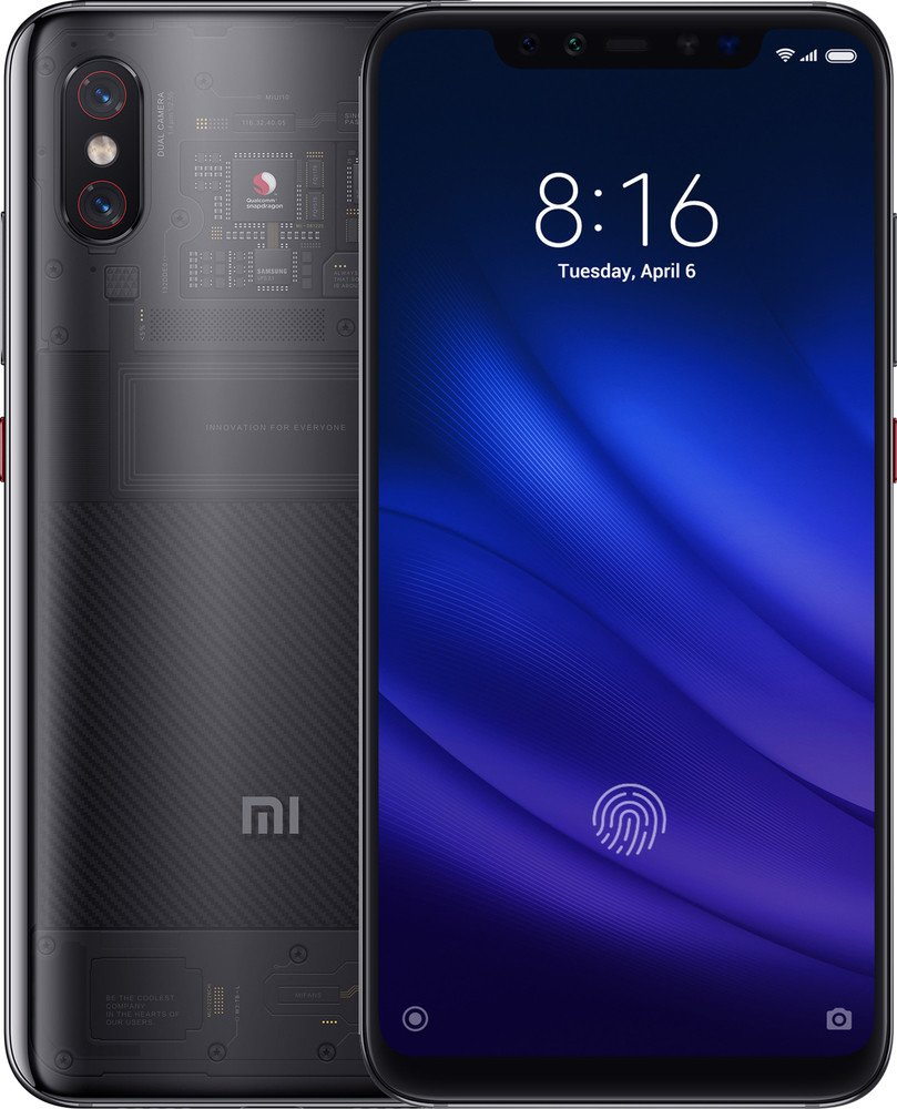 Смартфон Xiaomi Mi 8 Pro 8/128GB Transparent Black