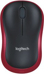 Миша Logitech Wireless Mouse M185 Red (910-002240)
