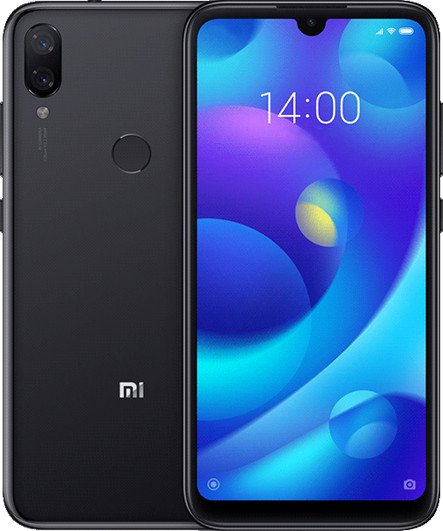 Смартфон Xiaomi Play 4/64GB (Black) UACRF