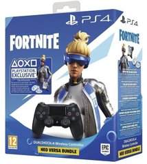 Геймпад Sony DualShock 4 V2 Black + Fortnite (9757016)