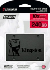 SSD накопичувач Kingston SSDNow A400 240 GB (SA400S37 / 240G)