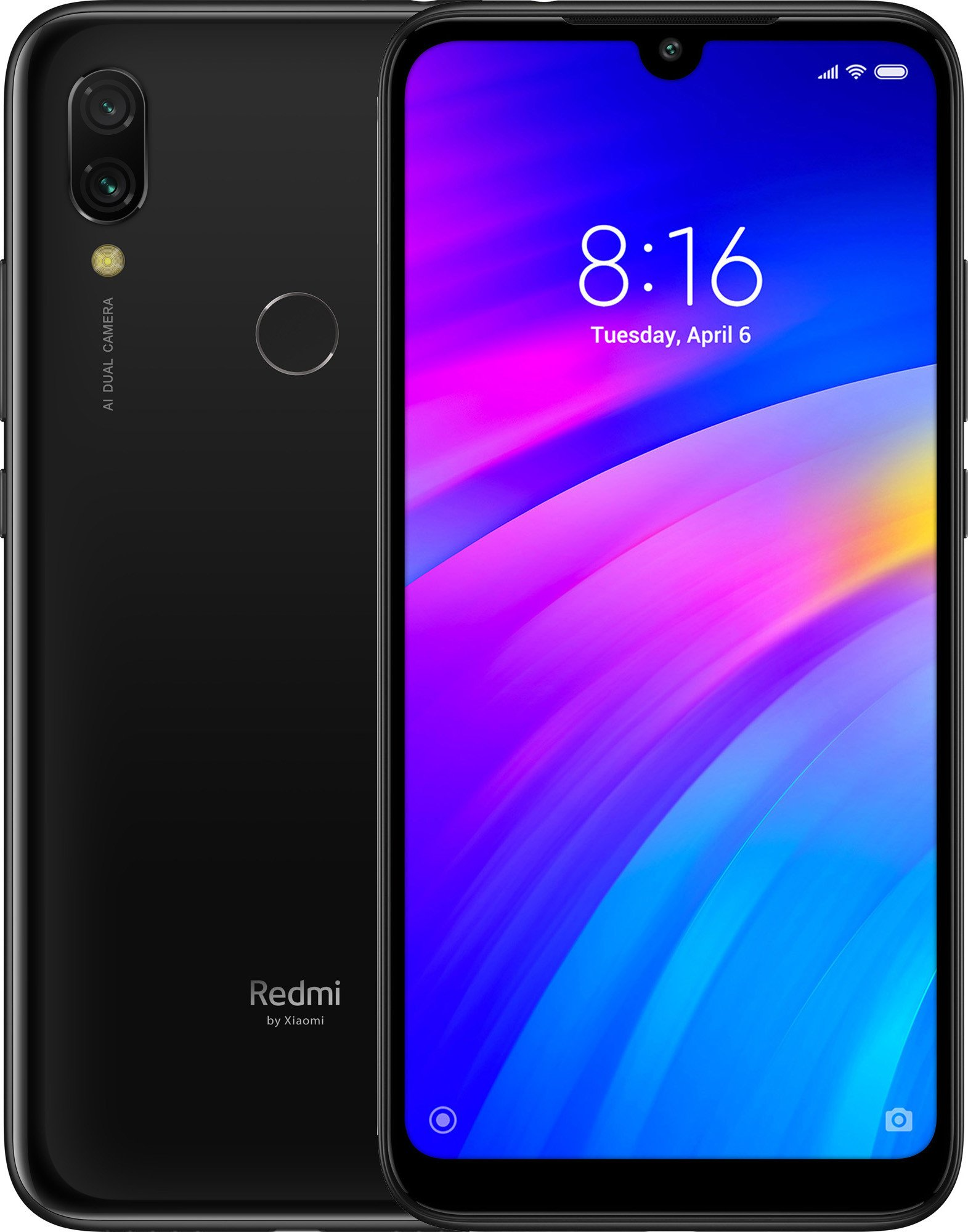 Смартфон Xiaomi Redmi 7 3/32Gb (Black) UACRF