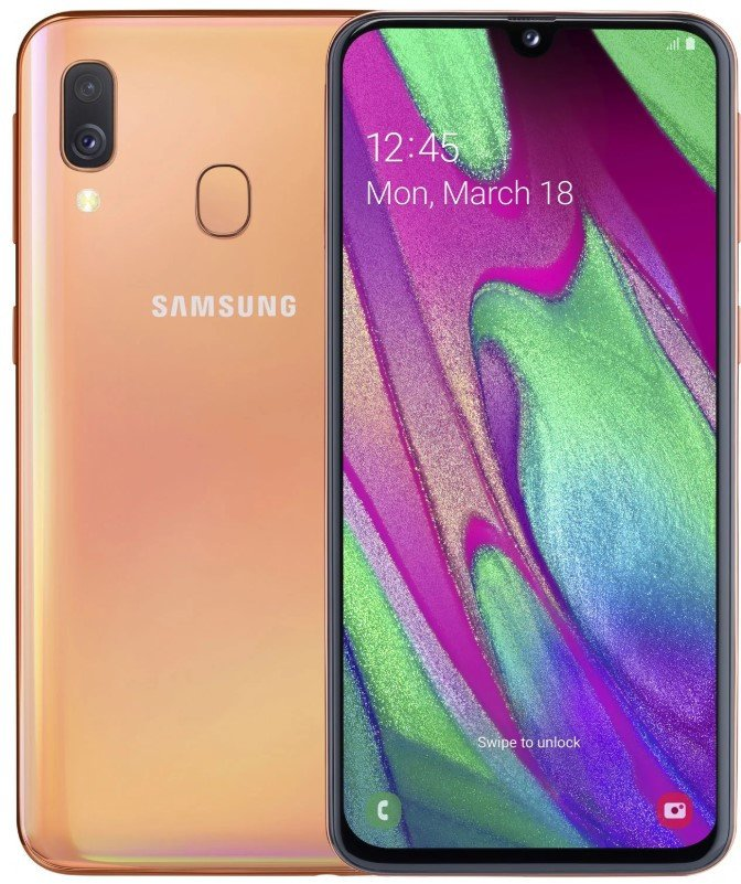 Смартфон Samsung Galaxy A40 2019 4/64GB Red (SM-A405F) UACRF