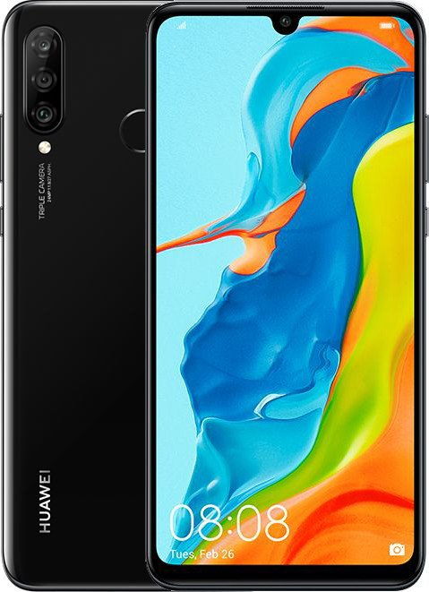 Смартфон HUAWEI P30 Lite 4/128GB (Midnight Black) UACRF