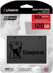 "SSD диск Kingston SSDNow A400 120GB 2.5"" SATAIII (SA400S37/120G)"