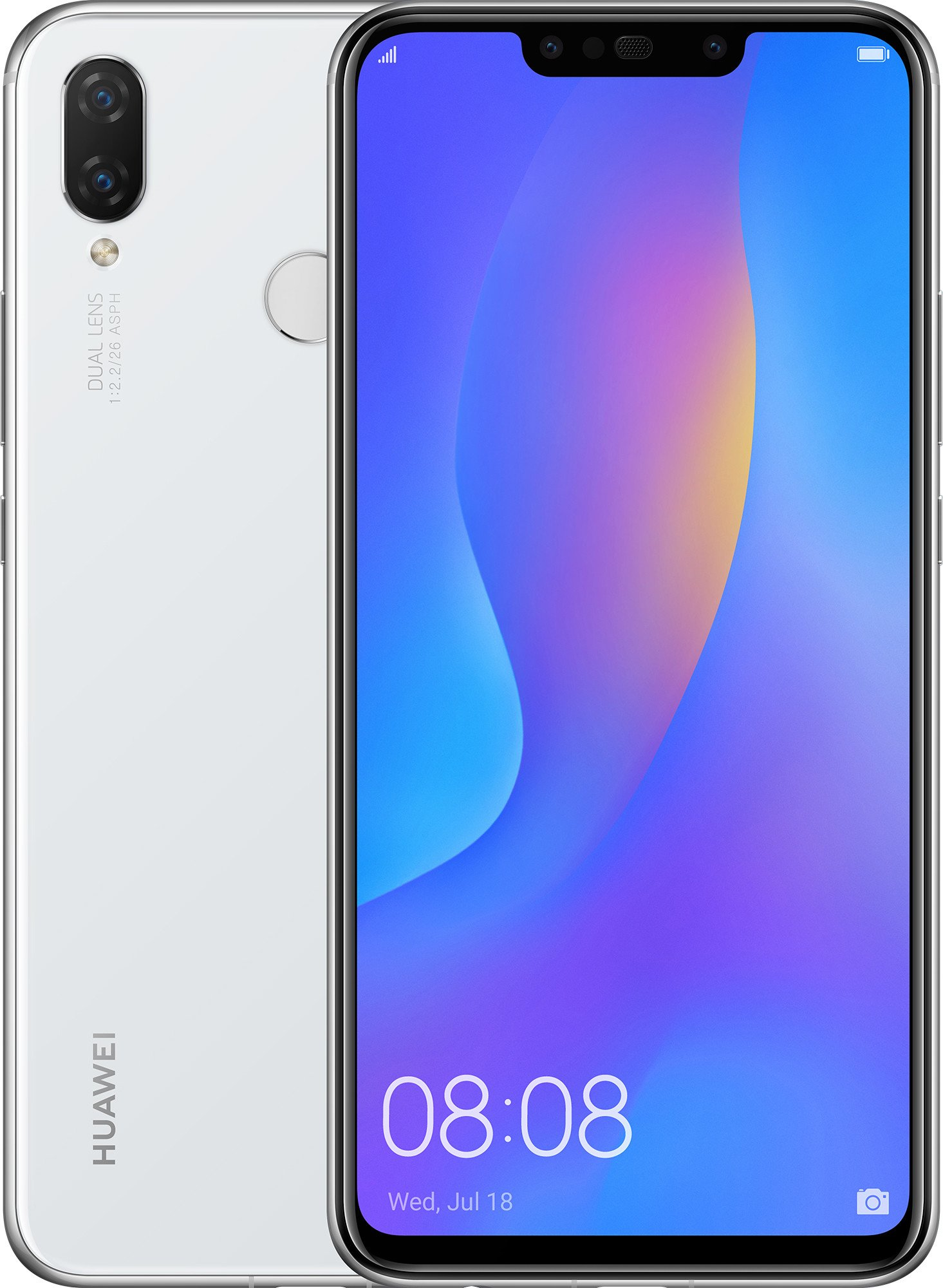 Смартфон HUAWEI P Smart Plus 4 / 64GB (White) UACRF