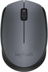 Мышь Logitech Wireless Mouse M170 Gray-Black (910-004642)